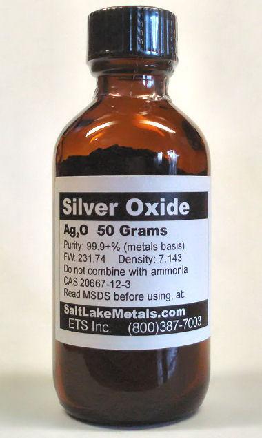 silver oxide lab